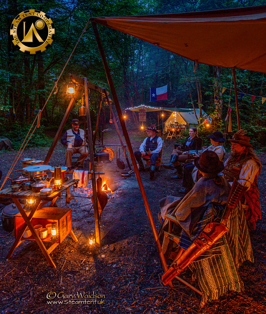 Evening at the Goldrush Camp 2019